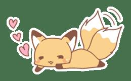 Two fox sticker #6522679