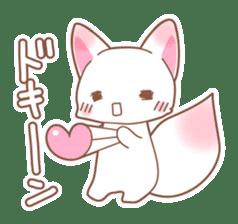 Two fox sticker #6522681