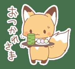 Two fox sticker #6522682