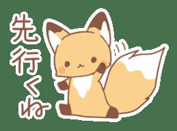 Two fox sticker #6522687