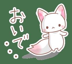 Two fox sticker #6522689