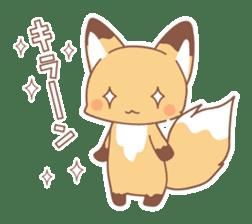 Two fox sticker #6522690