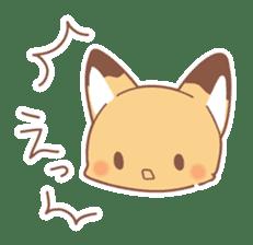 Two fox sticker #6522695