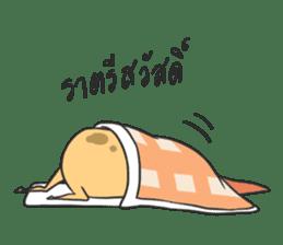sleepy potatoes sticker #6523386