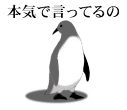 Cynical PENGUIN sticker #6527334