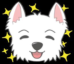 I LOVE West Highland White Terrier part4 sticker #6532264