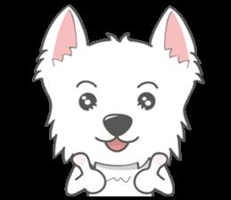 I LOVE West Highland White Terrier part4 sticker #6532270
