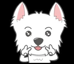 I LOVE West Highland White Terrier part4 sticker #6532271