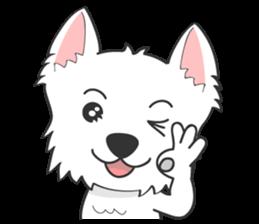 I LOVE West Highland White Terrier part4 sticker #6532272