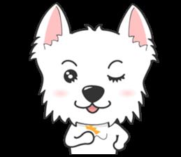 I LOVE West Highland White Terrier part4 sticker #6532273