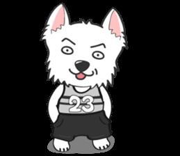 I LOVE West Highland White Terrier part4 sticker #6532275