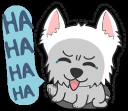 I LOVE West Highland White Terrier part4 sticker #6532276