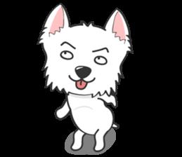 I LOVE West Highland White Terrier part4 sticker #6532279