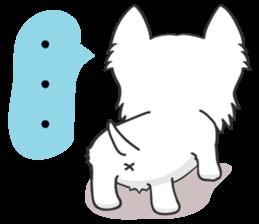 I LOVE West Highland White Terrier part4 sticker #6532280