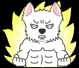 I LOVE West Highland White Terrier part4 sticker #6532281