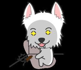 I LOVE West Highland White Terrier part4 sticker #6532282