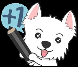 I LOVE West Highland White Terrier part4 sticker #6532283