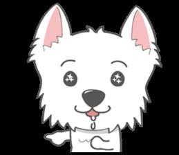 I LOVE West Highland White Terrier part4 sticker #6532284