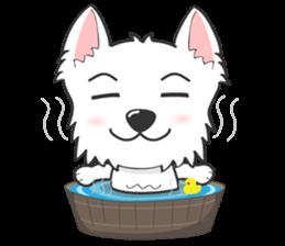 I LOVE West Highland White Terrier part4 sticker #6532287