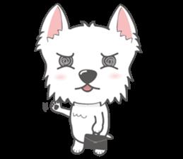 I LOVE West Highland White Terrier part4 sticker #6532288