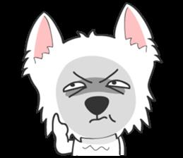I LOVE West Highland White Terrier part4 sticker #6532290