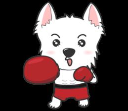 I LOVE West Highland White Terrier part4 sticker #6532291