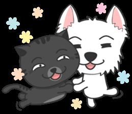 I LOVE West Highland White Terrier part4 sticker #6532297