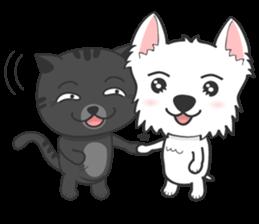 I LOVE West Highland White Terrier part4 sticker #6532298