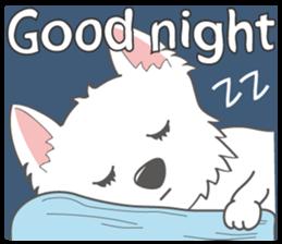 I LOVE West Highland White Terrier part4 sticker #6532299