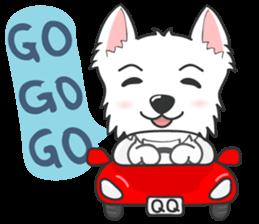 I LOVE West Highland White Terrier part4 sticker #6532300