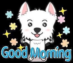 I LOVE West Highland White Terrier part4 sticker #6532303