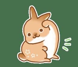 japanese bunny sticker (silent ver.) sticker #6532344