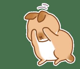 japanese bunny sticker (silent ver.) sticker #6532346