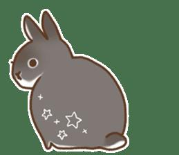 japanese bunny sticker (silent ver.) sticker #6532347
