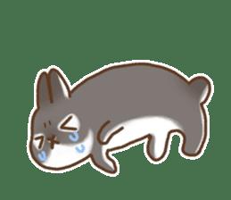 japanese bunny sticker (silent ver.) sticker #6532349