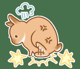 japanese bunny sticker (silent ver.) sticker #6532350