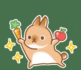 japanese bunny sticker (silent ver.) sticker #6532352