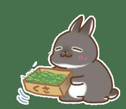 japanese bunny sticker (silent ver.) sticker #6532353