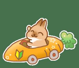 japanese bunny sticker (silent ver.) sticker #6532354