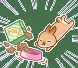 japanese bunny sticker (silent ver.) sticker #6532356