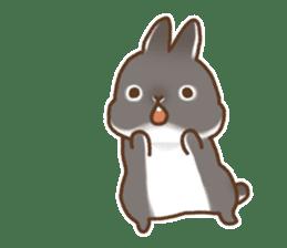 japanese bunny sticker (silent ver.) sticker #6532357