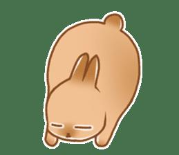 japanese bunny sticker (silent ver.) sticker #6532358