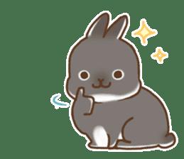 japanese bunny sticker (silent ver.) sticker #6532359
