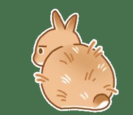 japanese bunny sticker (silent ver.) sticker #6532360