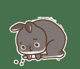 japanese bunny sticker (silent ver.) sticker #6532363
