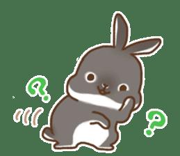 japanese bunny sticker (silent ver.) sticker #6532365