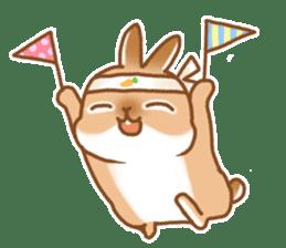 japanese bunny sticker (silent ver.) sticker #6532368