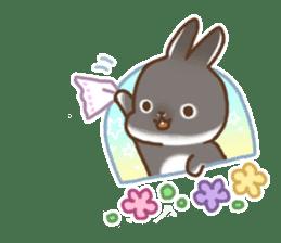 japanese bunny sticker (silent ver.) sticker #6532369