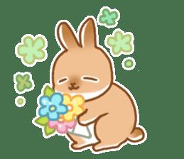 japanese bunny sticker (silent ver.) sticker #6532370