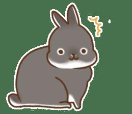 japanese bunny sticker (silent ver.) sticker #6532371